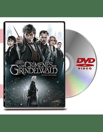 DVD Animales Fantasticos 2 Los Crimenes De Grindelwald