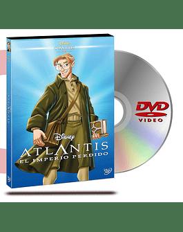 DVD Atlantis El Imperio Perdido