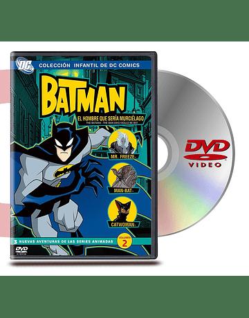 DVD Batman El Hombre Que Seria Murcielago