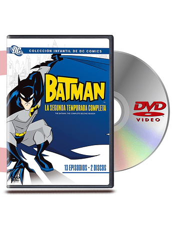 DVD Batman Segunda Temporada