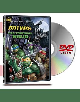 DVD Batman Y Las Tortugas Ninja