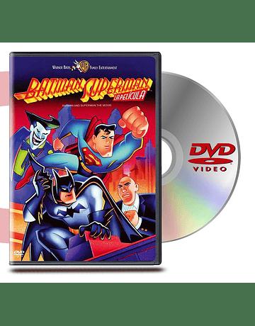 DVD Batman Y Superman La Pelicula