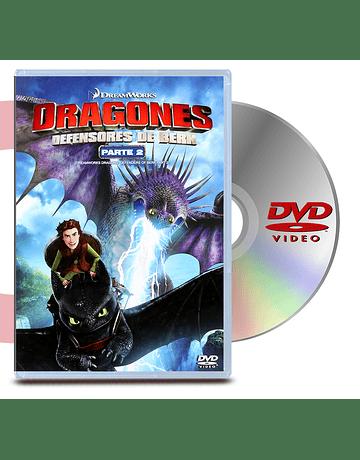 DVD Dragons Defensores De Berk Ii