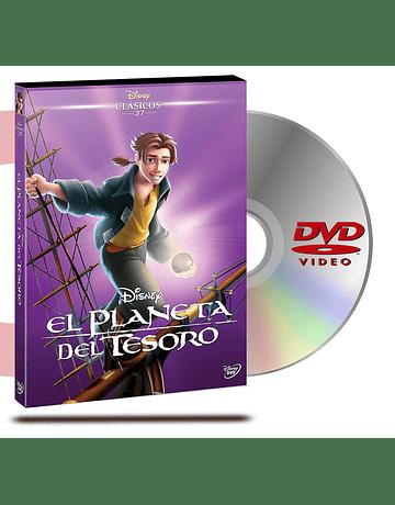 DVD El Planeta Del Tesoro