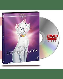 DVD Los Aristogatos Ee