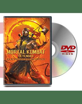 DVD Mortal Kombat Leyendas La Venganza De Escorpio