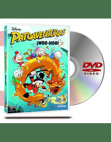 DVD Patoaventuras Woo Hoo