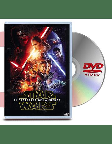 DVD Star Wars El Despertar De La Fuerza