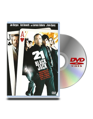 DVD 21 Black Jack