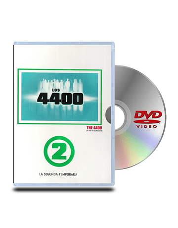 DVD 4400 Volumen 2 (4 Discos)