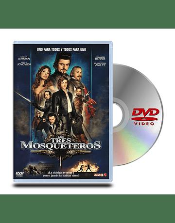 DVD Los Tres Mosqueteros