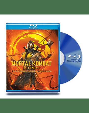 Bluray Mortal Kombat Legendas La Venganza de Escorpion