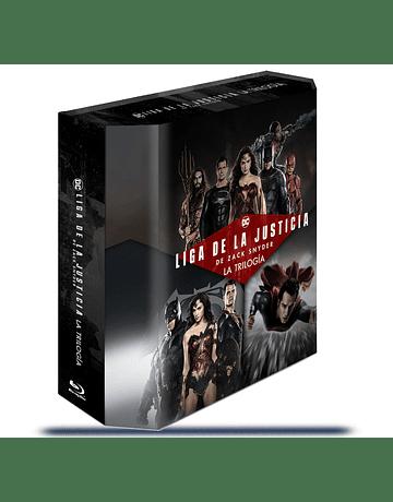 PACK Blu Ray Zack Snyder Liga de la Justicia