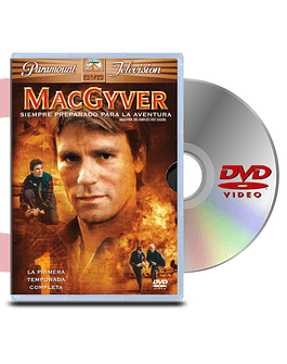 DVD Pack MacGyver (6 discos)