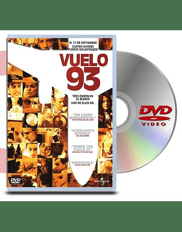 DVD Vuelo 93