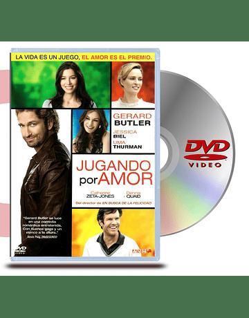 DVD Jugando por amor