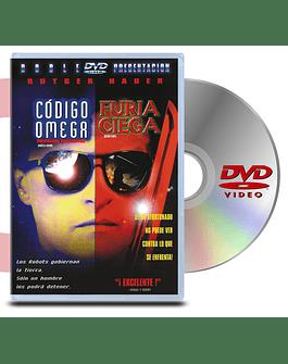DVD Código omega y Furía Ciega