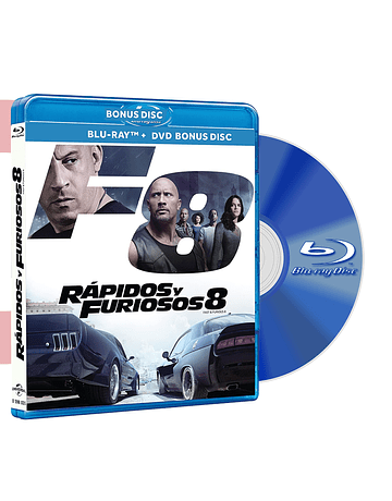 Blu Ray RAPIDOS Y FURIOSOS 8