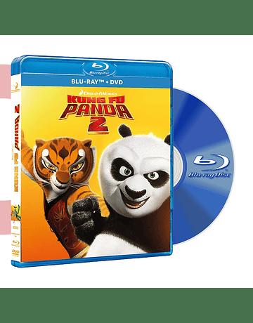 Blu Ray KUNG FU PANDA 2 BD+DVD