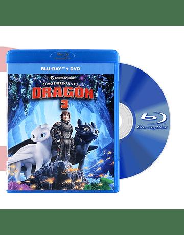 Blu Ray COMO ENTRENAR A TU DRAGON 3