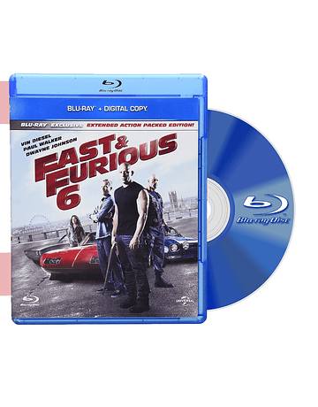 Blu Ray RAPIDOS Y FURIOSOS 6