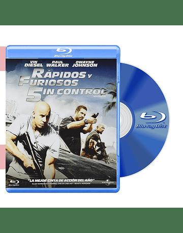 Blu Ray RAPIDOS Y FURIOSOS 5IN CONTROL