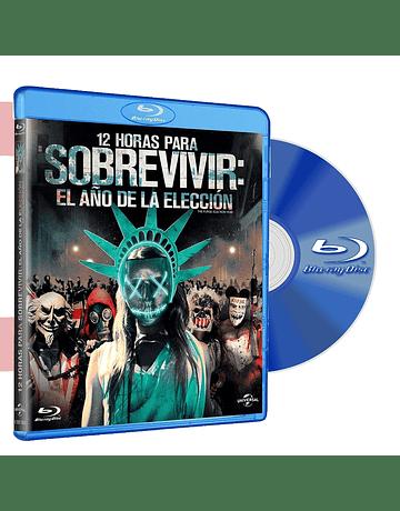 Blu Ray PURGE 3 12 HORAS PARA SOBREVIVIR EL AÑO DE LA ELECCION