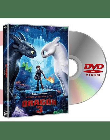 DVD COMO ENTRENAR A TU DRAGON 3