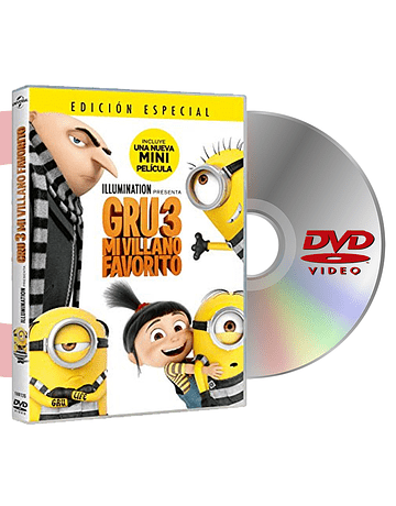 DVD MI VILLANO FAVORITO 3