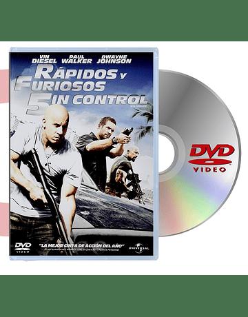 DVD RAPIDOS Y FURIOSOS 5IN CONTROL