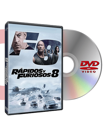 DVD RAPIDOS Y FURIOSOS 8