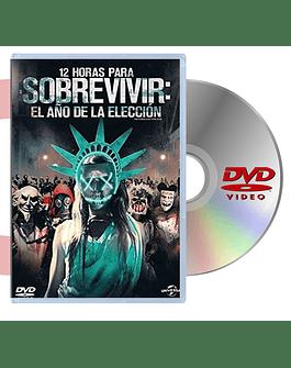 DVD 12 HORAS PARA SOBREVIVIR EL AÑO DE ELECCION