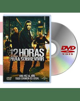 DVD 12 HORAS PARA SOREVIVIR