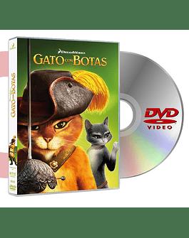 DVD GATO CON BOTAS
