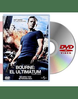 DVD EL ULTIMATUM BOURNE
