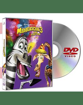 DVD MADAGASCAR 3 LOS FUGITIVOS