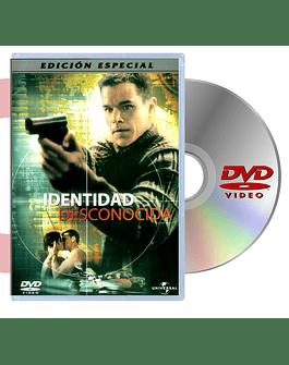 DVD IDENTIDAD DESCONOCIDA