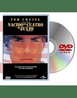 DVD NACIDO EL 4 DE JULIO