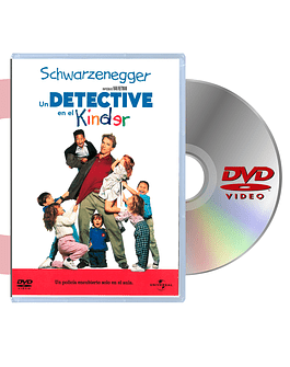 DVD Un Detective En El Kindergarten