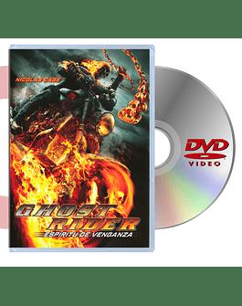 DVD Ghost Rider Espiritu De Venganza