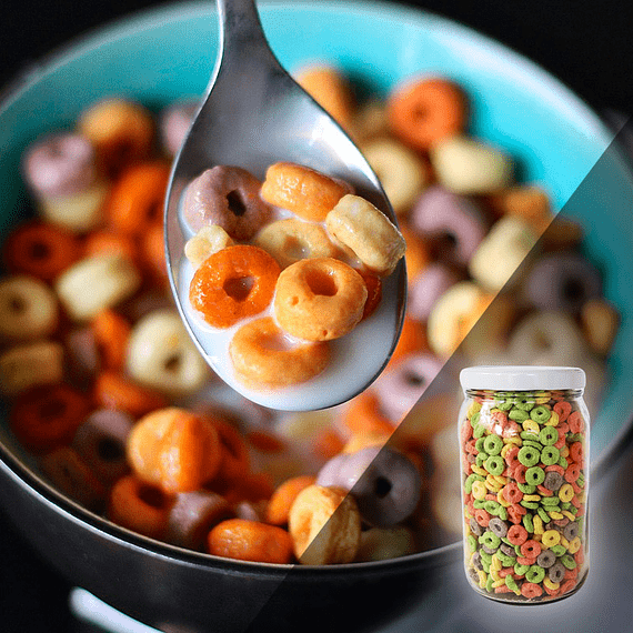 Cereal anillos frutales S/Azúcar 150 Grs