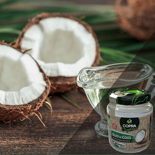 Aceite de Coco Extra Virgen Orgánico 200 Ml