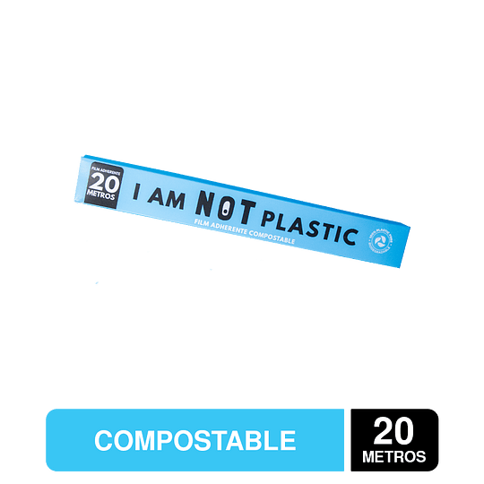 Film Adherente 20 Mts Compostable