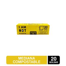 Bolsas Herméticas Mediana 18x17 cms Compostable