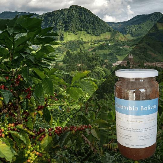 Café Premium Origen Colombia (Bolivar) 250 Grs