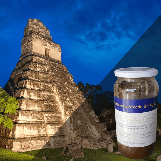 Café Premium Origen Guatemala (Volcán de Agua) 250 Grs