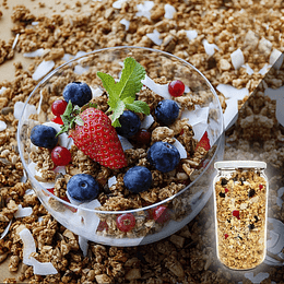 Granola Berries Bajas en calorías 400 Grs