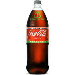 Coca-Cola Light Retornable 2 Lts