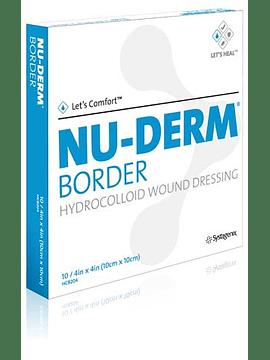 NU-DERM BORDER - APOSITO HIDROCOLOIDE  10 x 10 CM