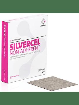 SILVERCEL NO ADHERENTE: Apósito de Alginato y Plata no Adherente. Disponible en diferentes Medidas
